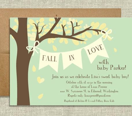 tips, ideas and inspiration for hosting a fall themed autumn baby,