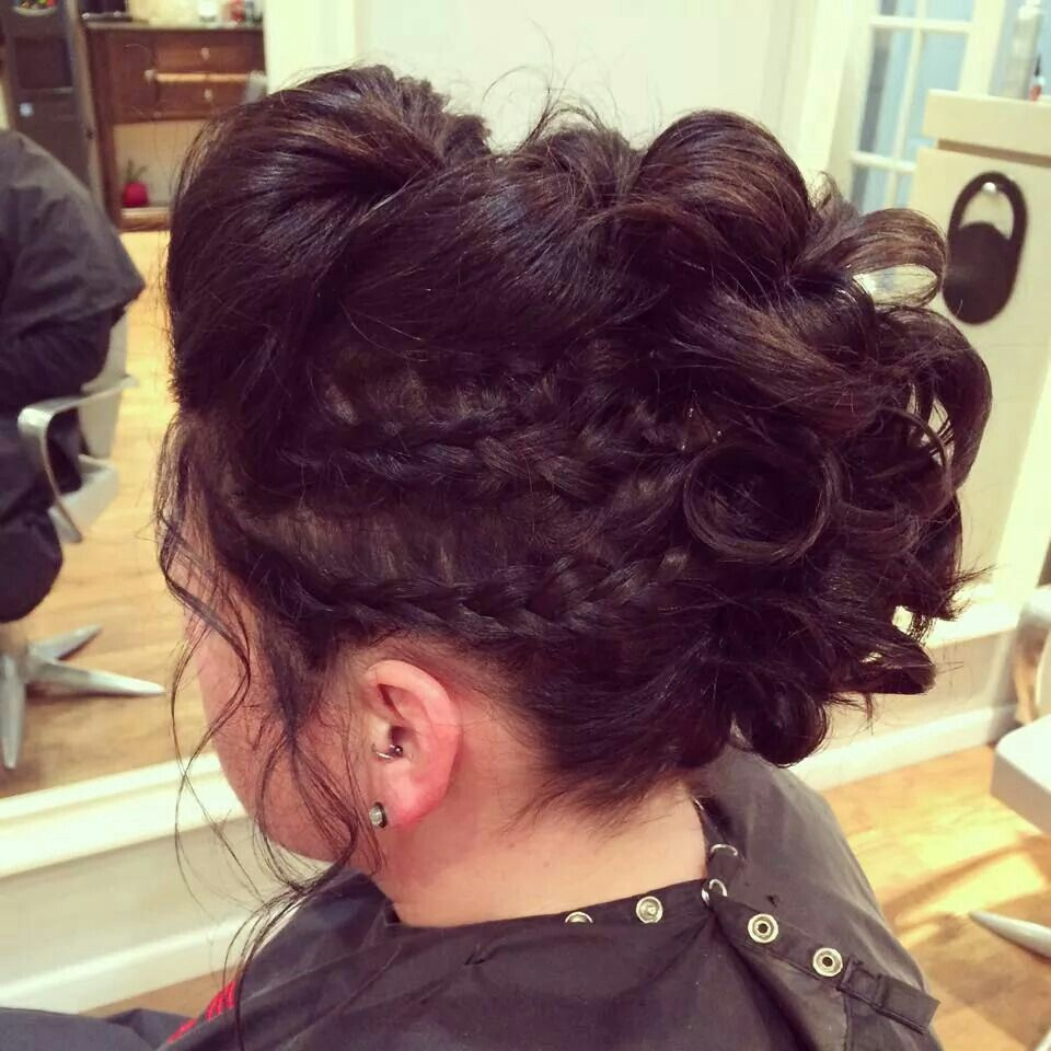 cornrow styles for hair pictures faux hawk updo for my s wedding loved it up 8803