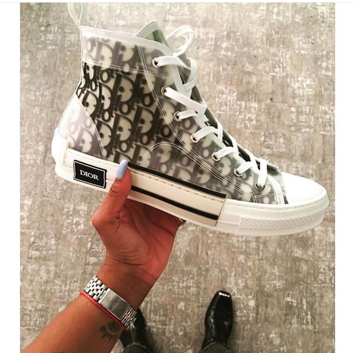 chaussures converse homme transparent