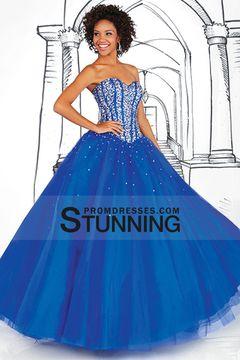 2015 A Line Sweetheart Prom Dresses With Beading Floor Length $209.99 SPPEF3HAYP - StunningPromDresses.com