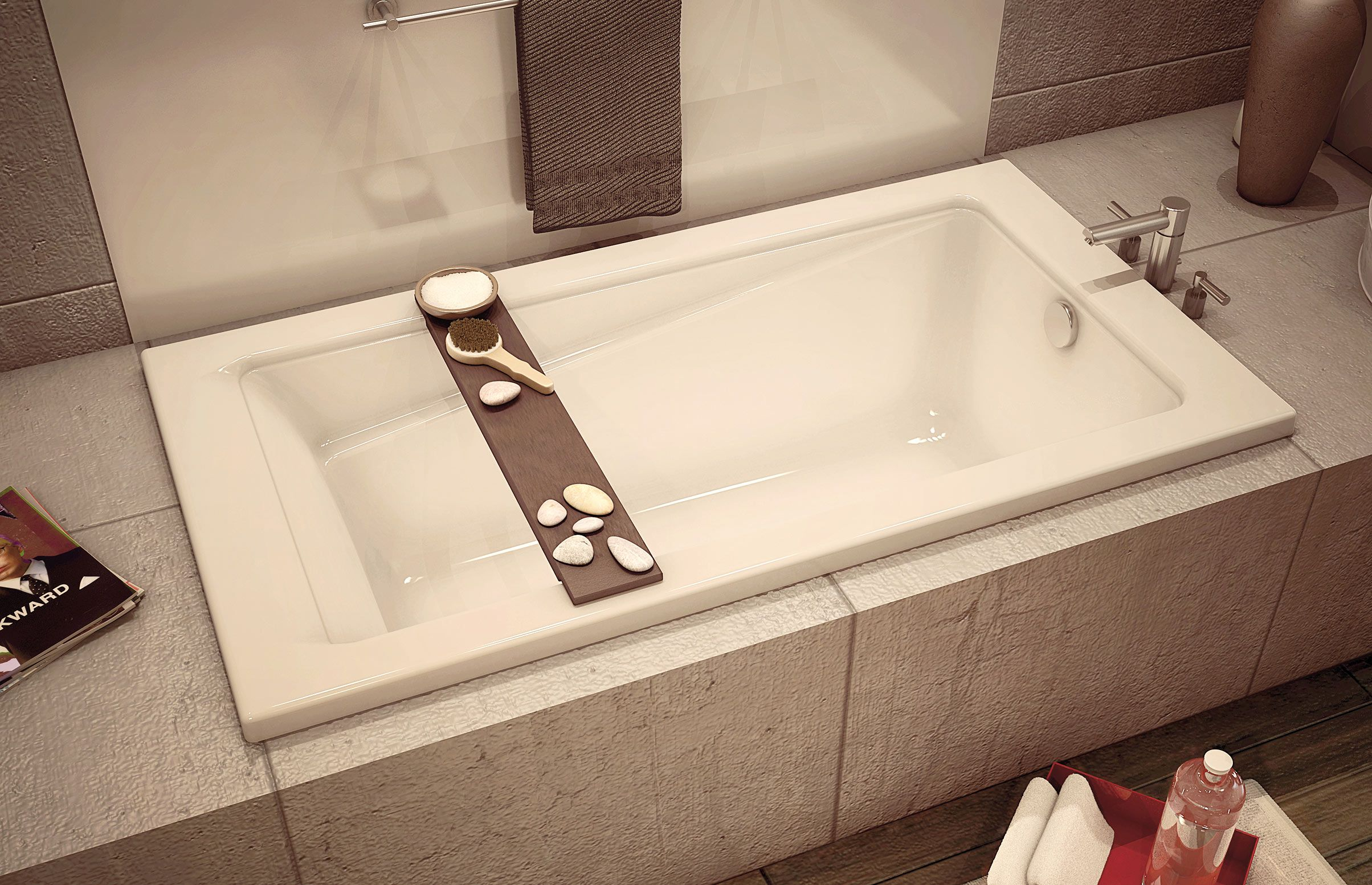 New Town 6032 Alcove or Drop-in bathtub - Advanta by MAAX | Bathroom ...