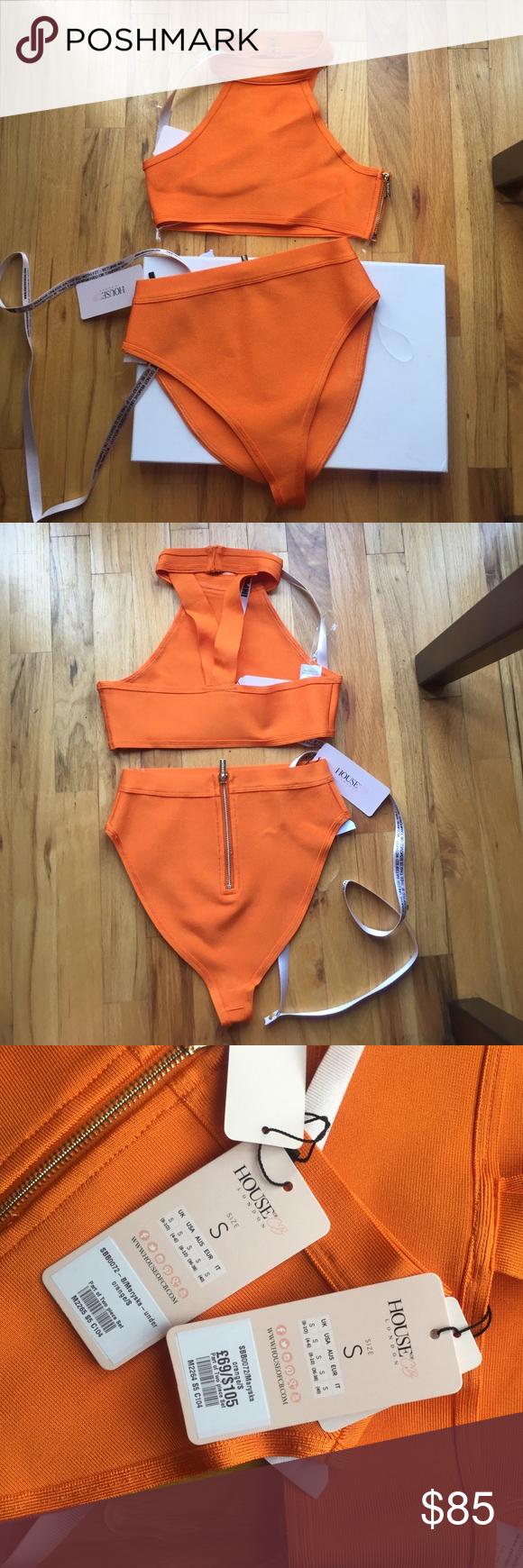 44041b331ae Spotted while shopping on Poshmark: NWT House of CB bandage swim suit!!  #poshmark #fashion #shopping #style #house of CB #Other