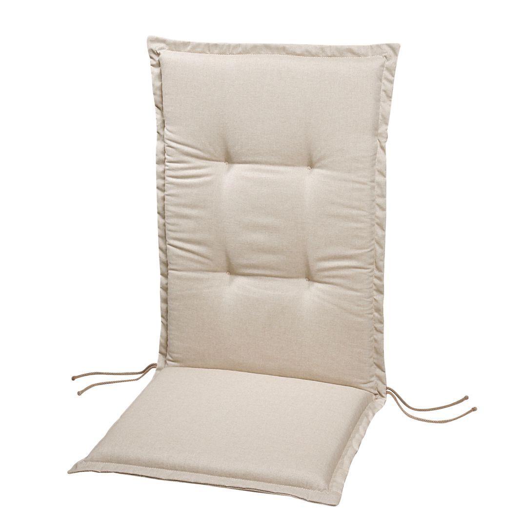 auflage selection line creme uni niederlehner 100 x 50 cm best freizeitm bel jetzt. Black Bedroom Furniture Sets. Home Design Ideas