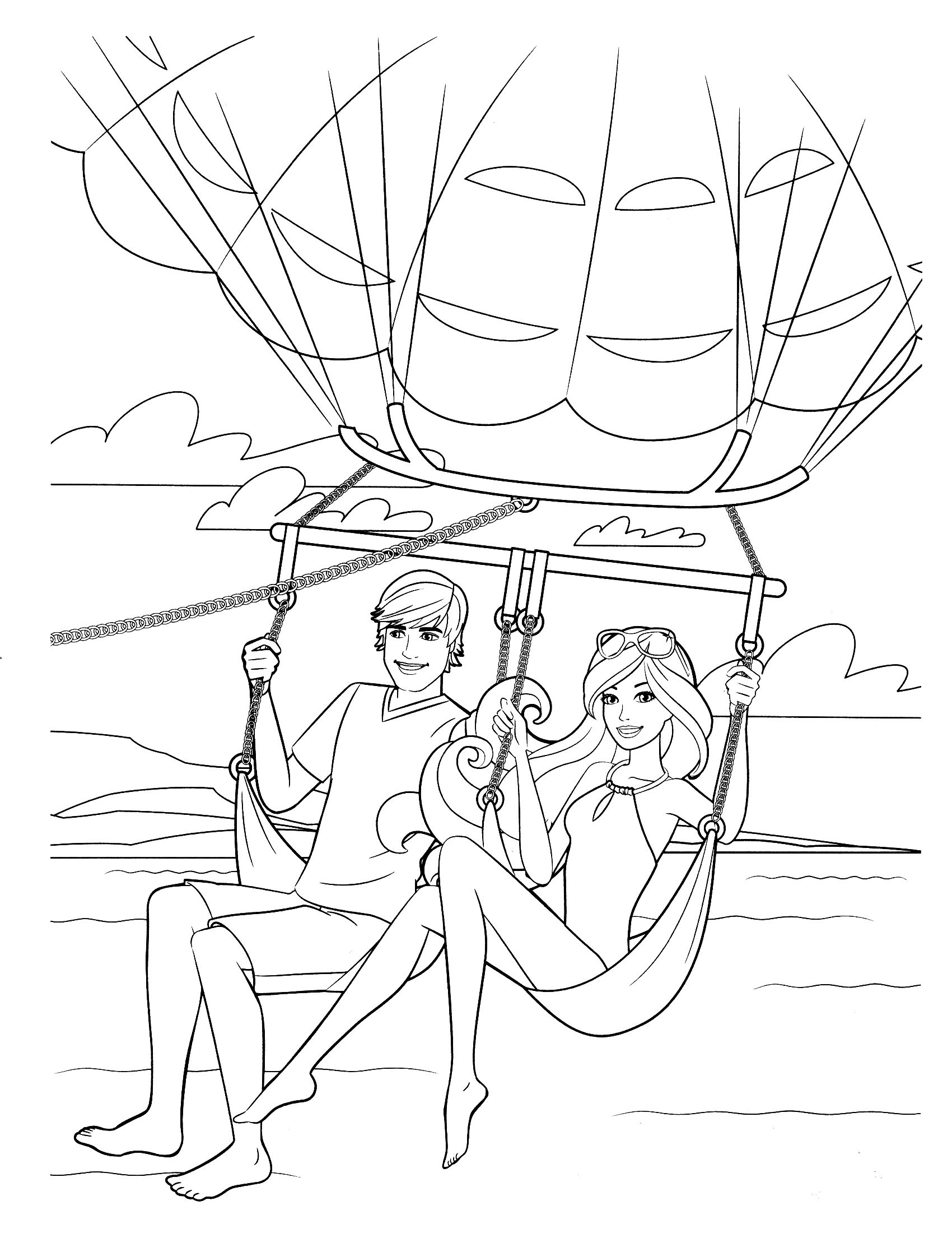 barbie coloring page | color pages and more for kids 1 | Pinterest ...