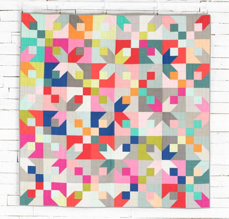 Corner Lot Call Me Contemporary Quilt Kit | Fabrics, Contemporary ... : quilts corner - Adamdwight.com