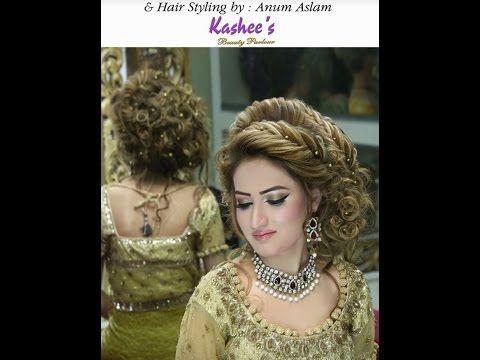 20 Pakistani Wedding Hairstyles For A Perfect Looking Bride Pakistani Bridal Hairstyles Bridal Hair Buns Elegant Wedding Hair