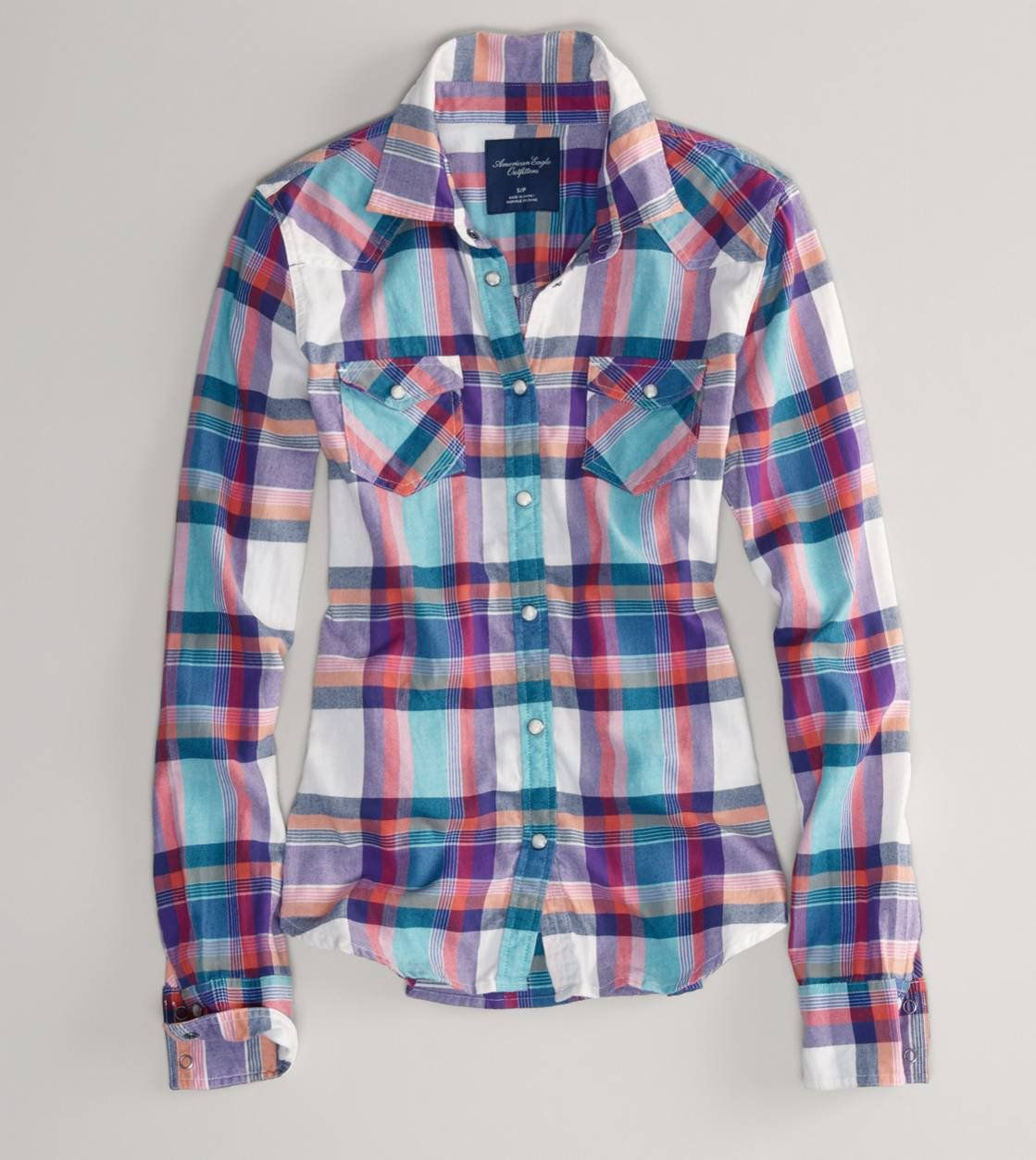 Flannel over shirt  AE Plaid Flannel Western Shirt  My Crazzie Style  Pinterest