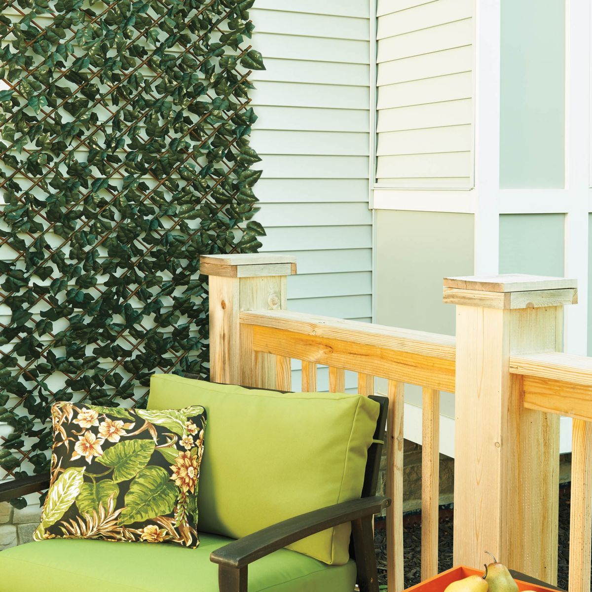 Expandable Faux Ivy Trellis | Porch, Outdoor spaces and Patios