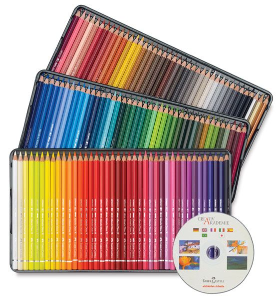 Faber Castell Albrecht Durer Watercolor Pencil Set Of 120