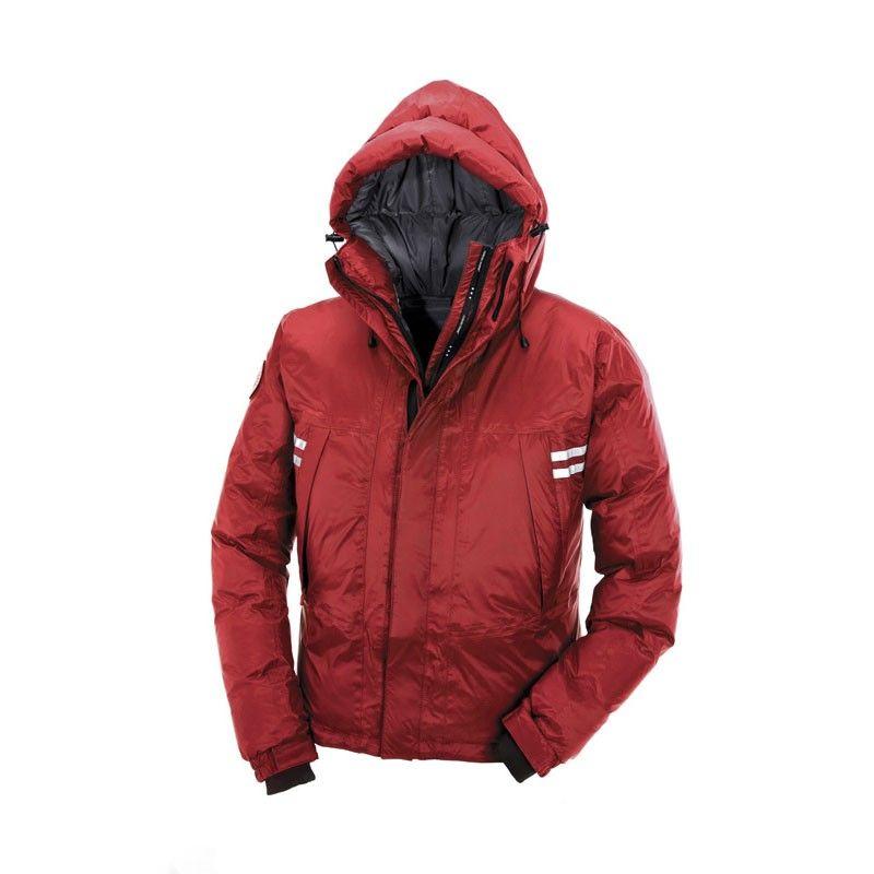 Canada Goose Men's Mountaineer Jacket In Red