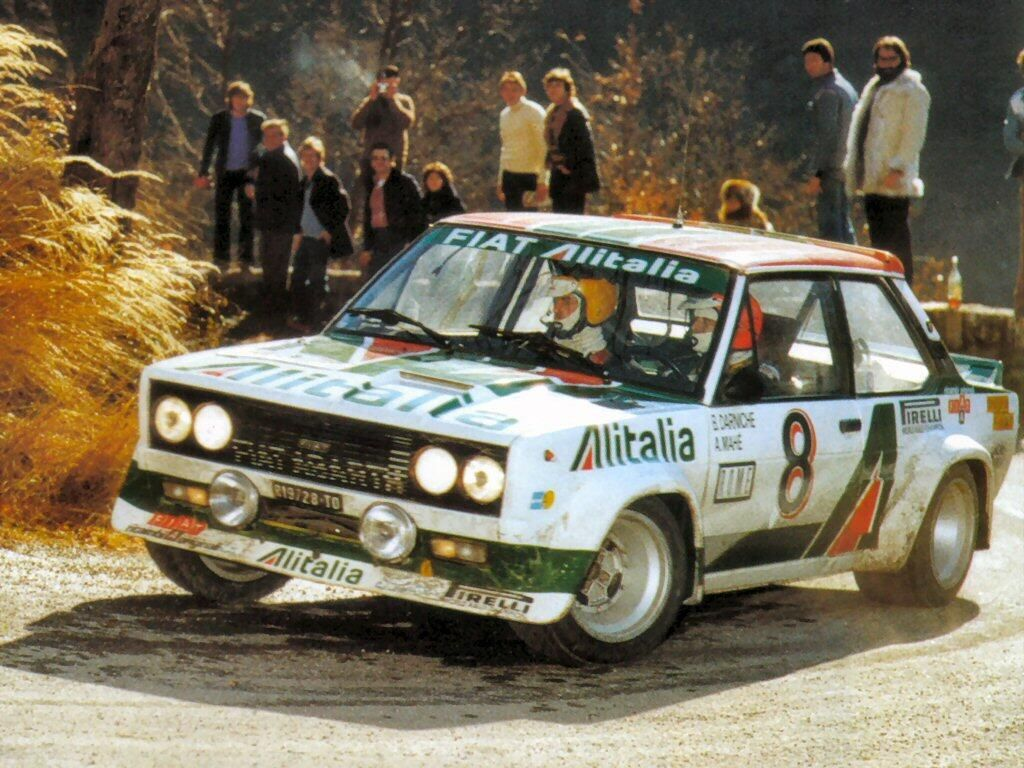The Fiat 131 Abarth may not look as menacing as other rally cars but ...