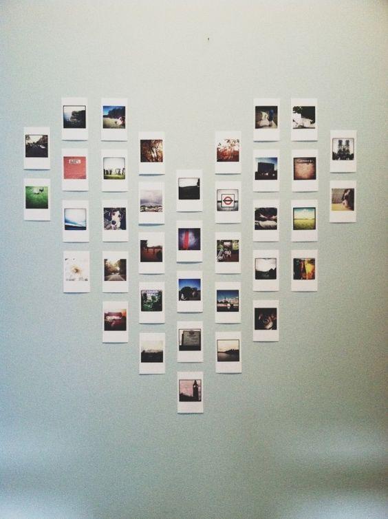 ideas para decorar tu recámara con fotos instax room ideas room