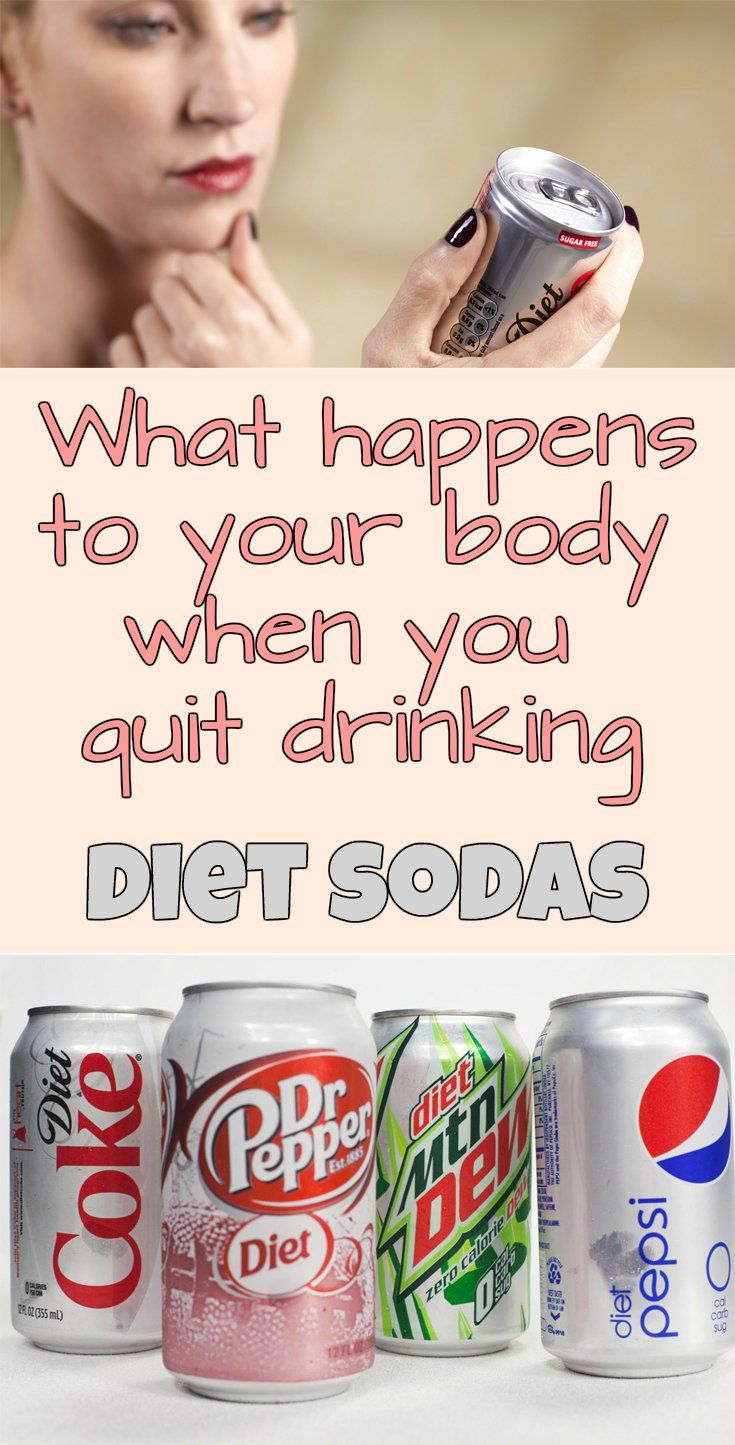 What Happens To Your Body When You Quit Drinking Diet Sodas Beauty Total Com Diet Soda Healthy Soda Stop Drinking Soda