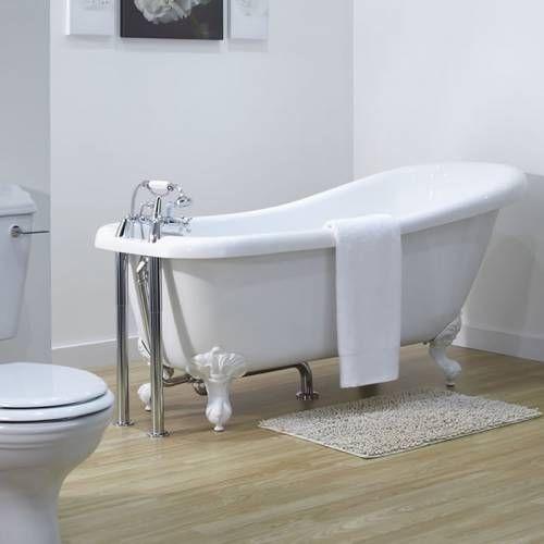 hudson reed freistehende badewanne roma mit auswählbaren füßen, Hause ideen
