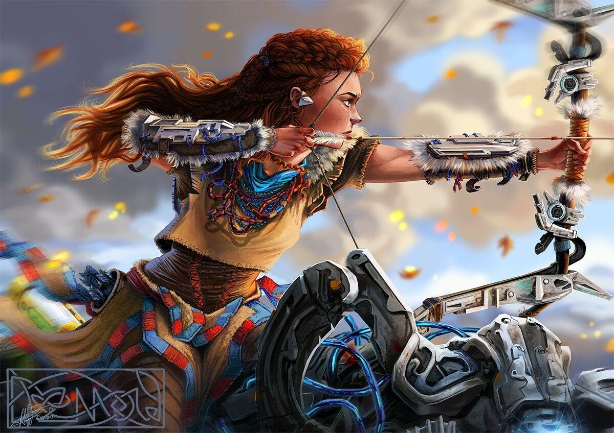 ᗩloy⋄ .⊹ in 2020 Horizon zero dawn, Gamer girl, Dawn
