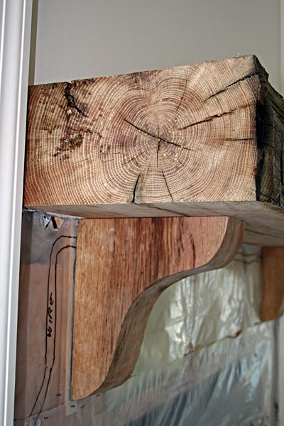 Reclaimed Wood Mantel Shows Unparalleled Character