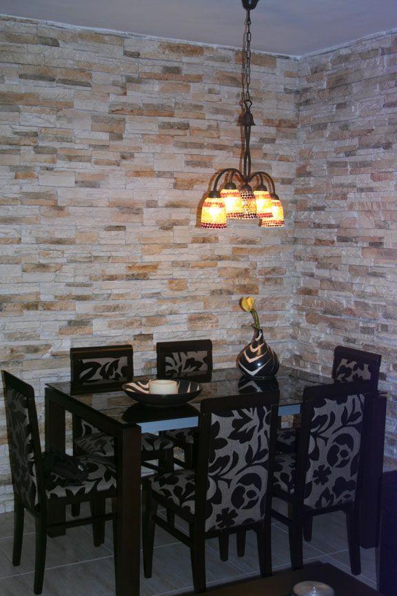 paredes de piedra decorativa buscar con google