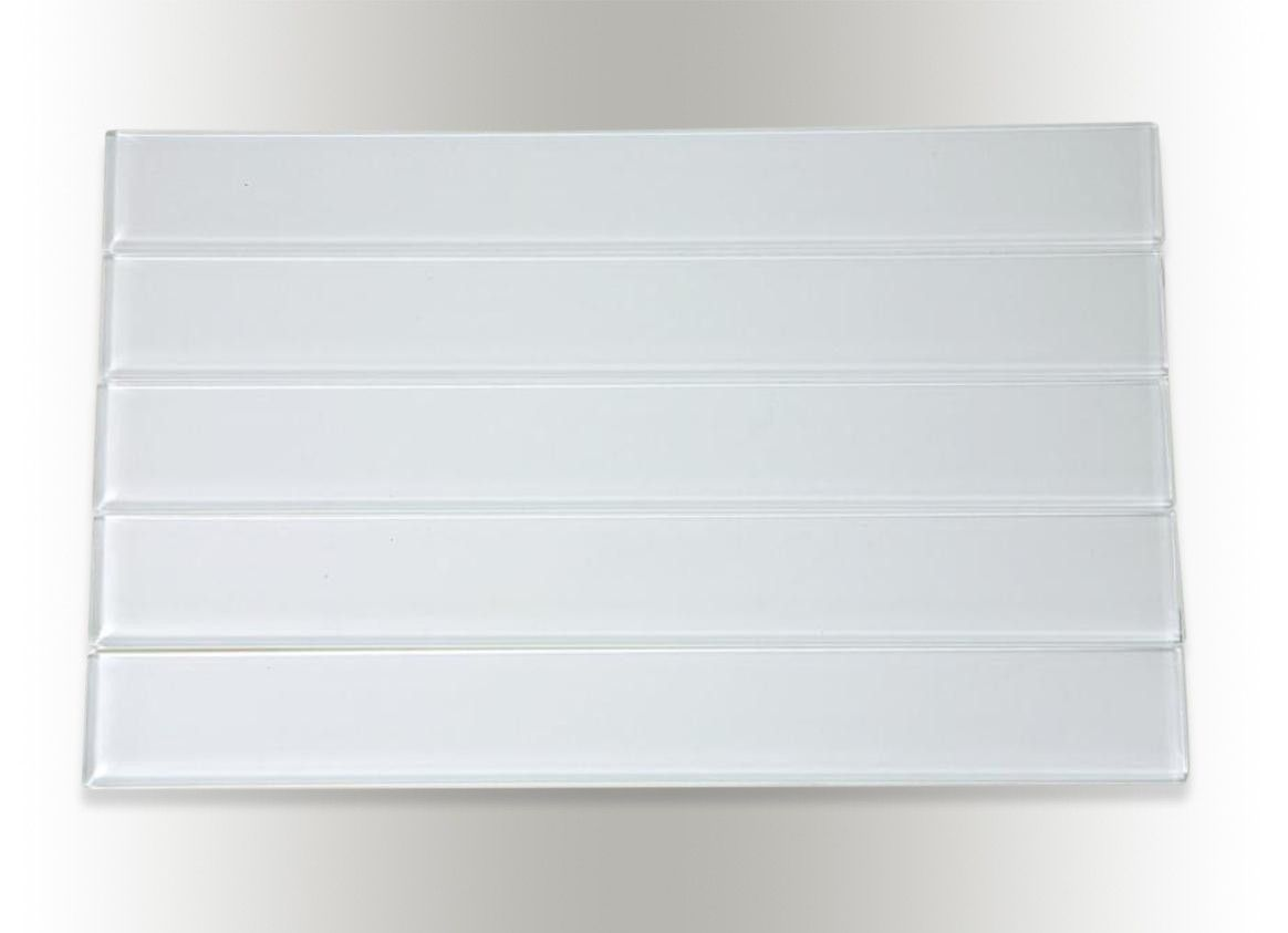 loft horizon super white polished 2x16 glass tile shop