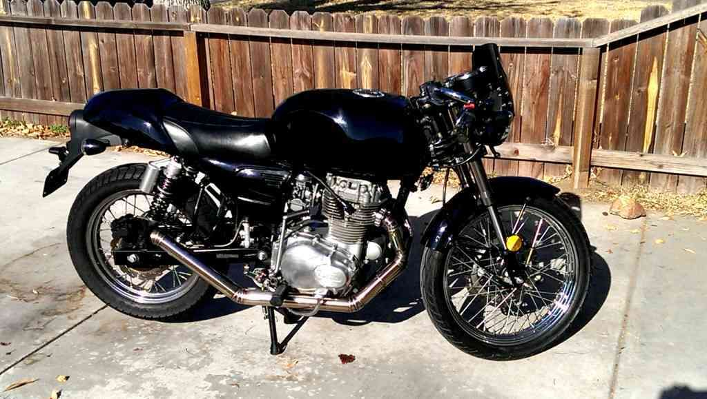 Honda Cb360 Engine Built Into A Cleveland Cyclewerks Misfit