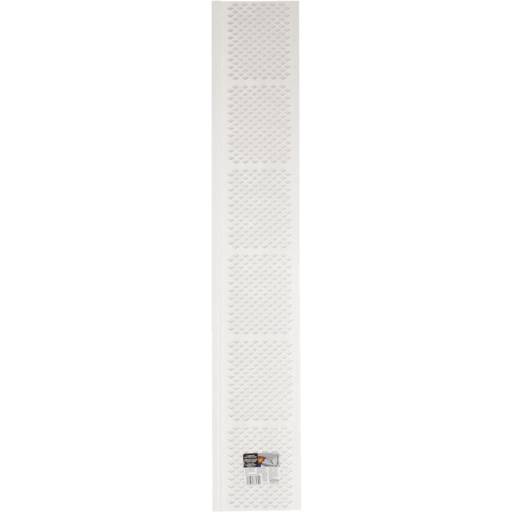 Amerimax 3 Ft White Vinyl Gutter Guard With Filter Do It Best World S Largest Hardware Store In 2020 Gutter Guard Vinyl Gutter White Vinyl