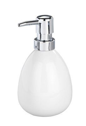 Wenko Ceramic Polaris Soap Dispenser White Bathroom Trends Pump