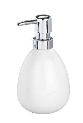 Wenko Ceramic Polaris Soap Dispenser White