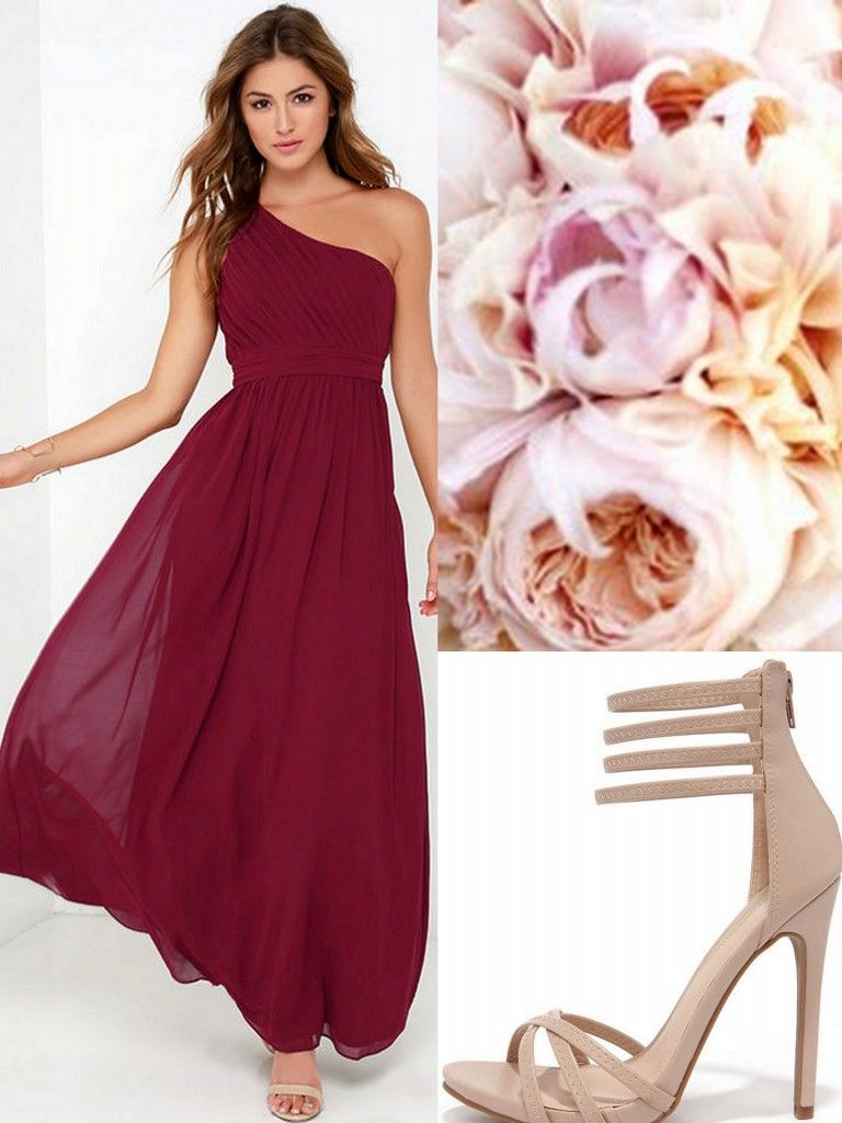 Oxblood-Burgundy-Bridesmaid Dresses | Burgundy Bridesmaid Dresses ...