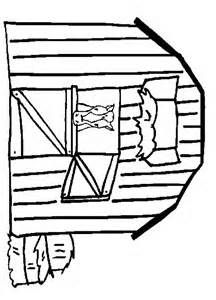 Image Detail For The First Farm Coloring Page Gives The Children