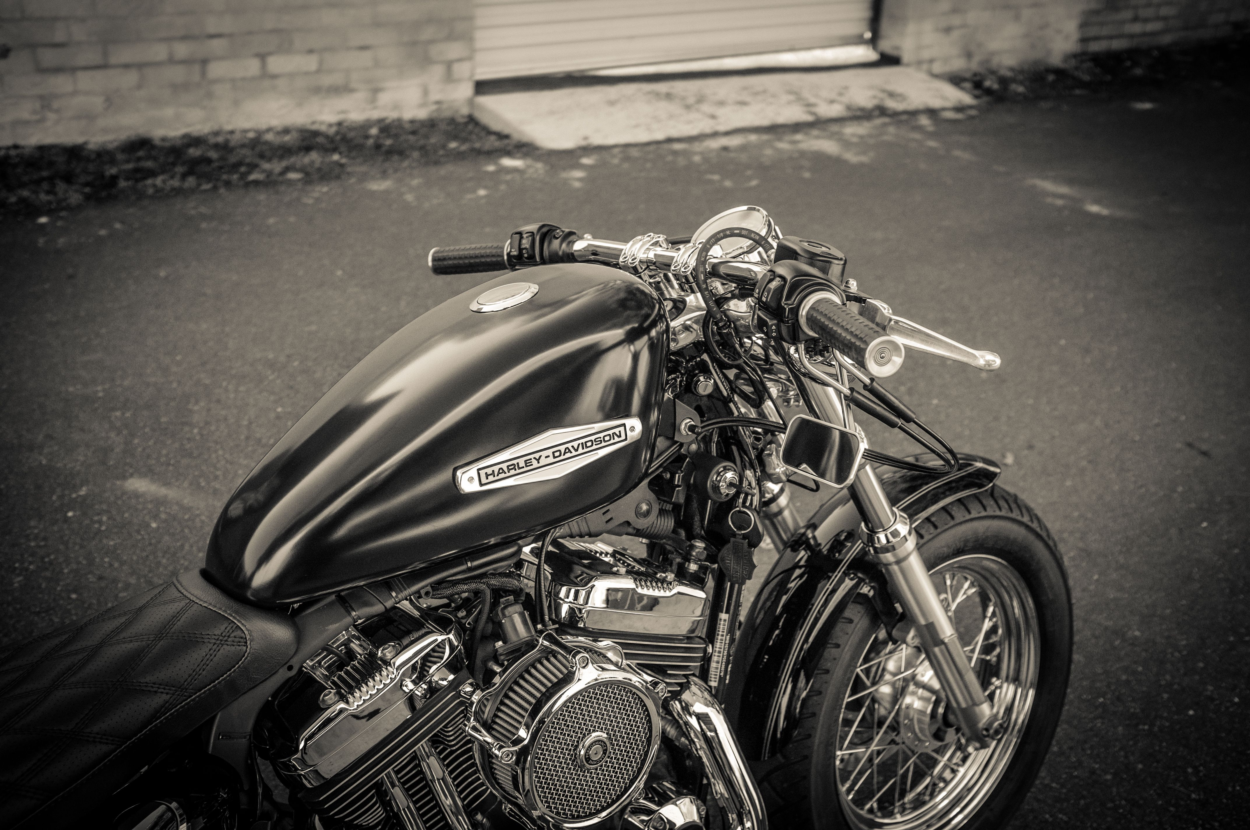 12' Harley-Davidson Sportster XL1200C - Build 14' - Part 2. 66' - 71' OEM Gas Tank Emblems.