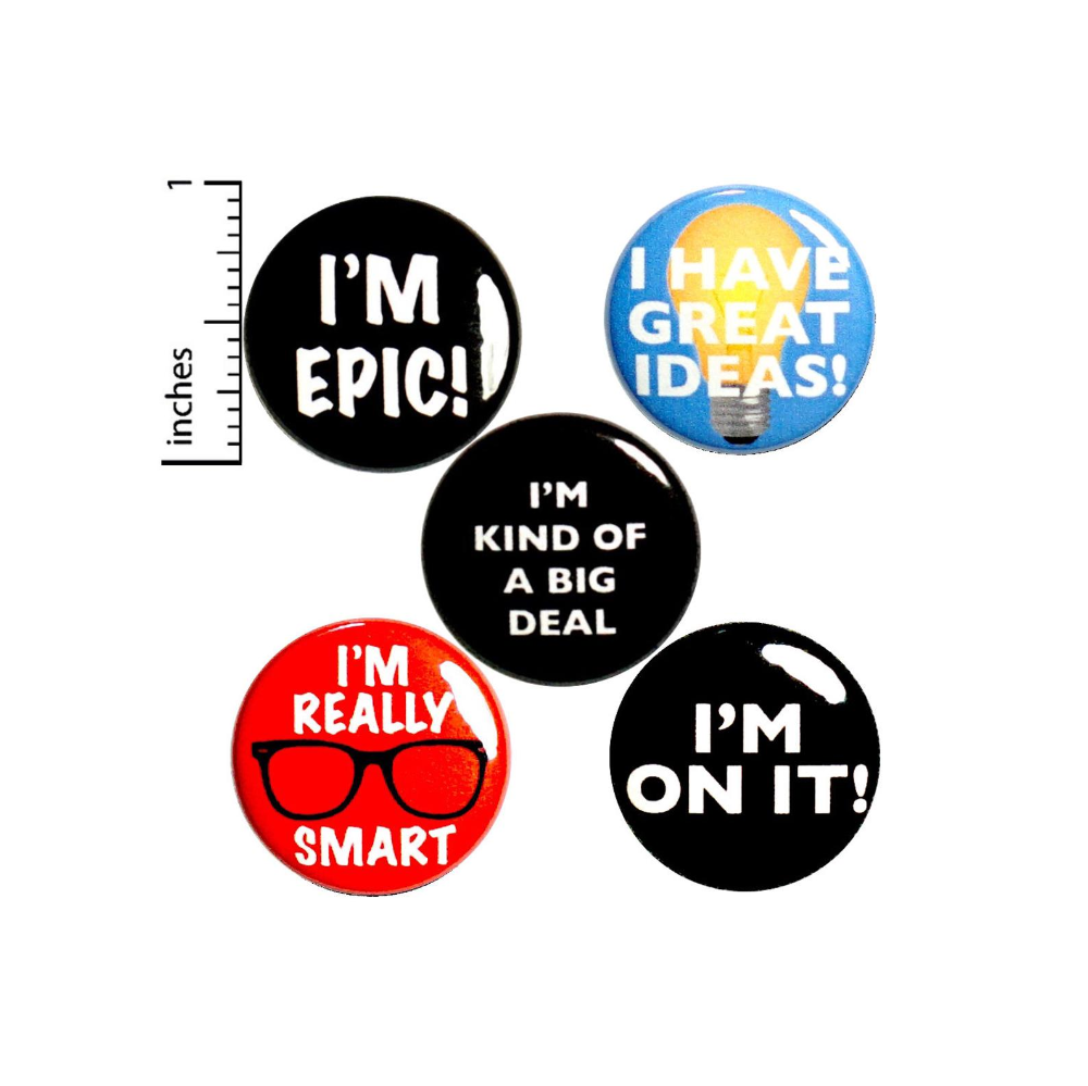 Positive Buttons Or Fridge Magnets Encouraging Pinbacks Etsy In 2020 Work Gifts Positive Gift Employee Appreciation Gifts