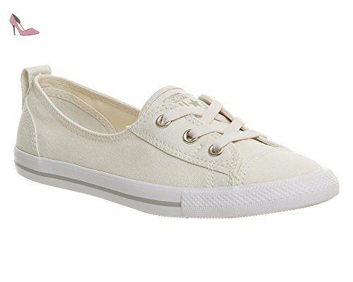 chaussure converse femme blanc