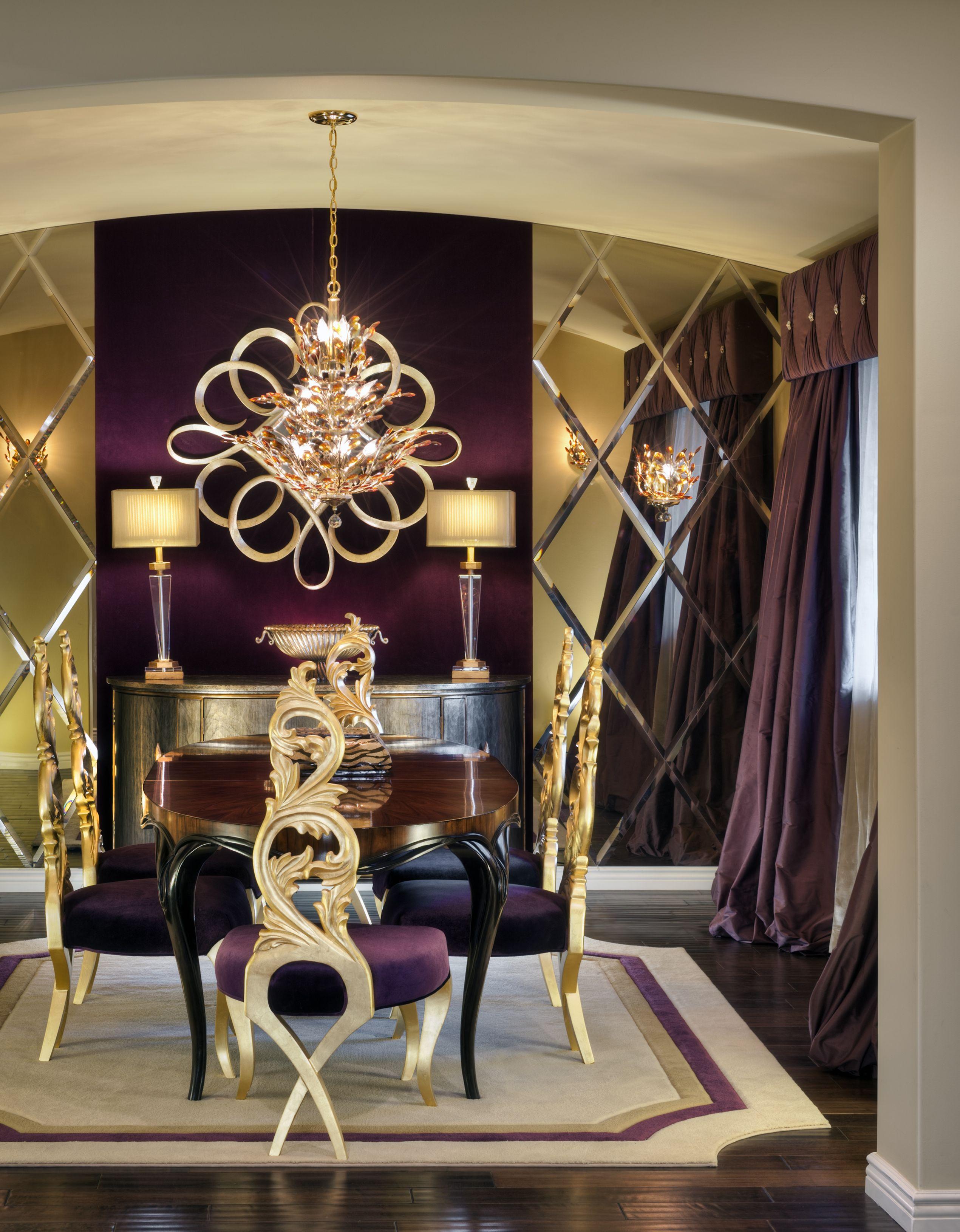 Charles Neal Interiors Hollywood Hills Estate Decoraci N  # Muebles Viu Comedores