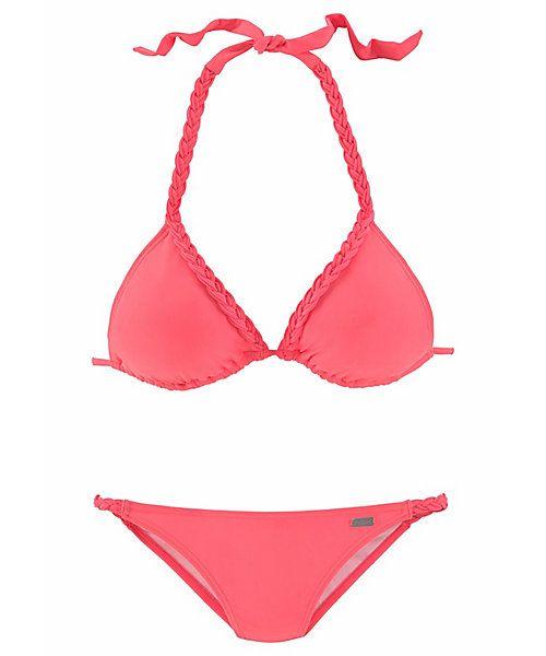 7e4da3721f1166 Buffalo Triangel-Bikini mit Flecht-Detail
