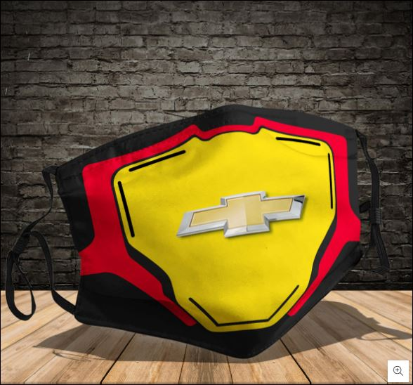 Chevrolet Logo Face Mask In 2020 Logo Face Chevrolet Logo Face