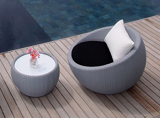 Lebello Circle T Circle Chair Outdoor Furnishings Modern Outdoor Furniture