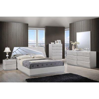 Global Furniture USA Barcelona Platform Customizable Bedroom Set - http://delanico.com/bedroom-sets/global-furniture-usa-barcelona-platform-customizable-bedroom-set-597281854/