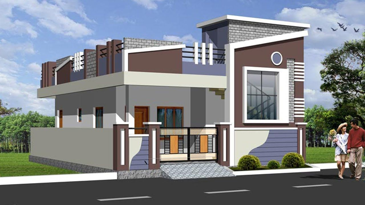 Image result for individual house elevation for single floor