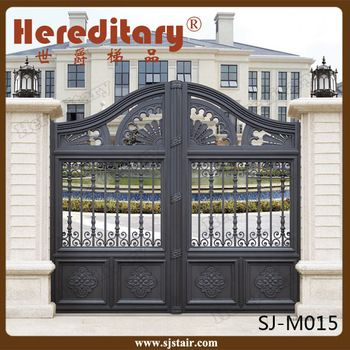 Automatic Indian House Cast Aluminum Main Gate Designs For Villa Buy Automatic Aluminum Main Gate Indian House Gate Design Home Gate Design Main Gate Design