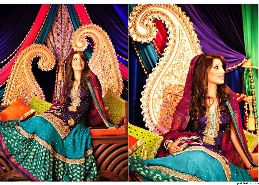 Mehndi Night : Asian wedding blog: mehndi decor indian pakistani brides
