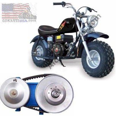 1002b Tc2 Torque Converter For Baja Coleman Trailmaster Mini Bike