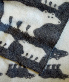 I love to gift these wool baby blankets.  They are an heirloom right out of the gate.