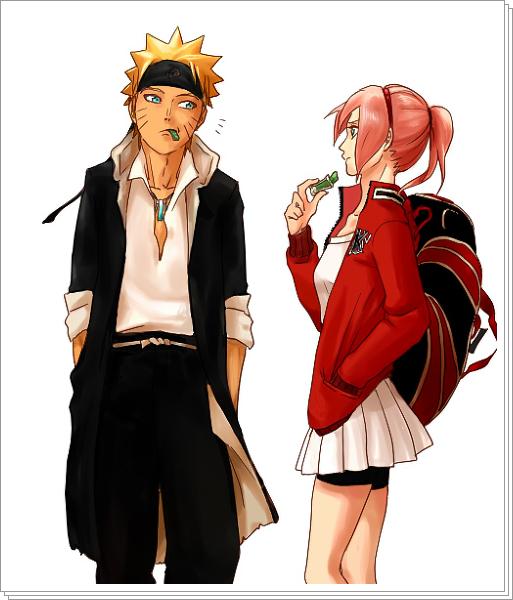 Sasusaku Modern Au: Pin Em Anime Amor