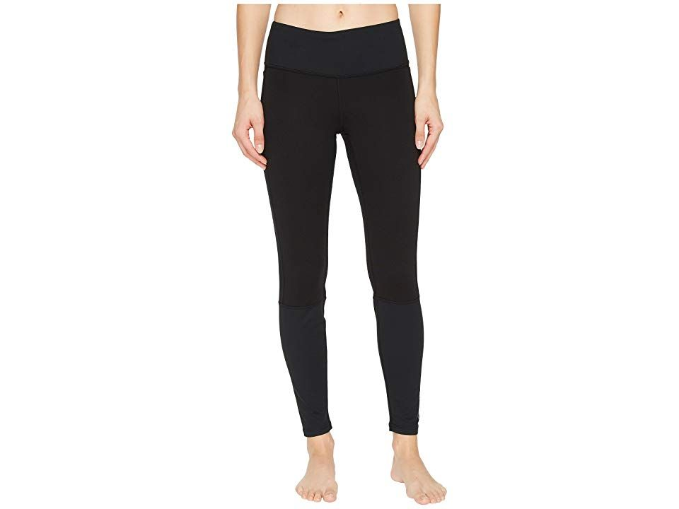 9732822ffc23a Brooks Threshold Tights (Black) Women's Workout. Break records in the  high-performance