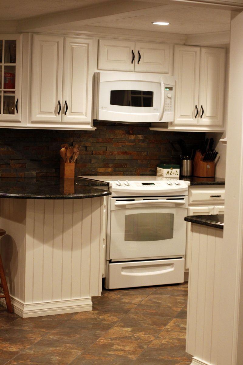 Light Meets Dark White Wood Kitchens Kitchen Design Rona Kitchen Cabinets