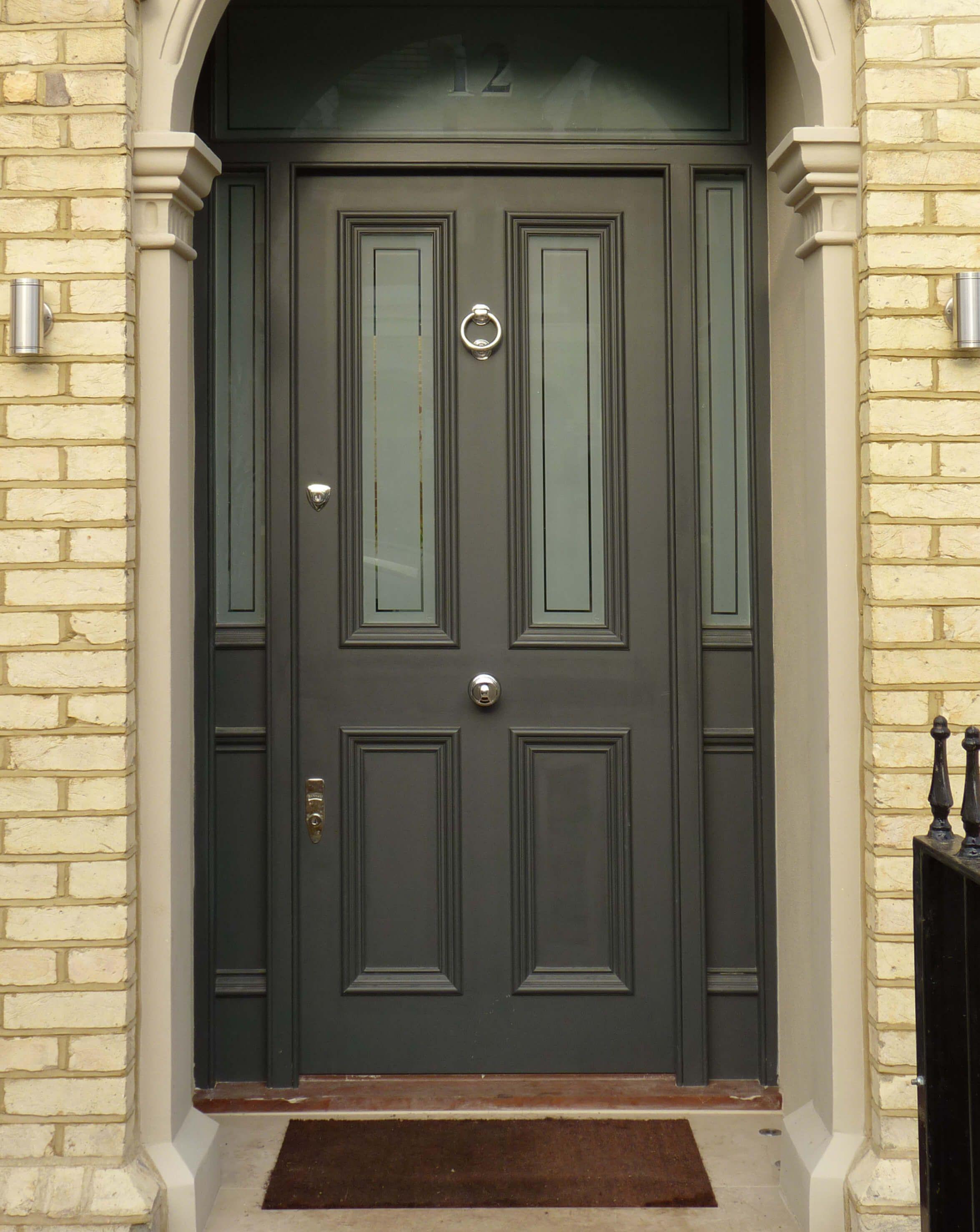 Victorian House Front Door - London Door Company