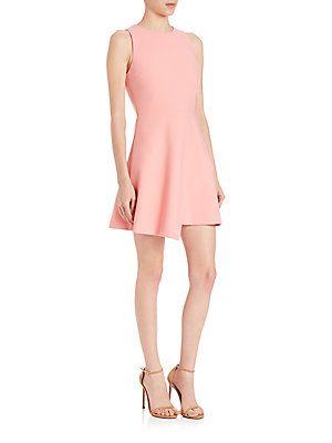 fe58d0dec0 Elizabeth and James Ayla Asymmetrical Dress - Apricot - Size 10 ...