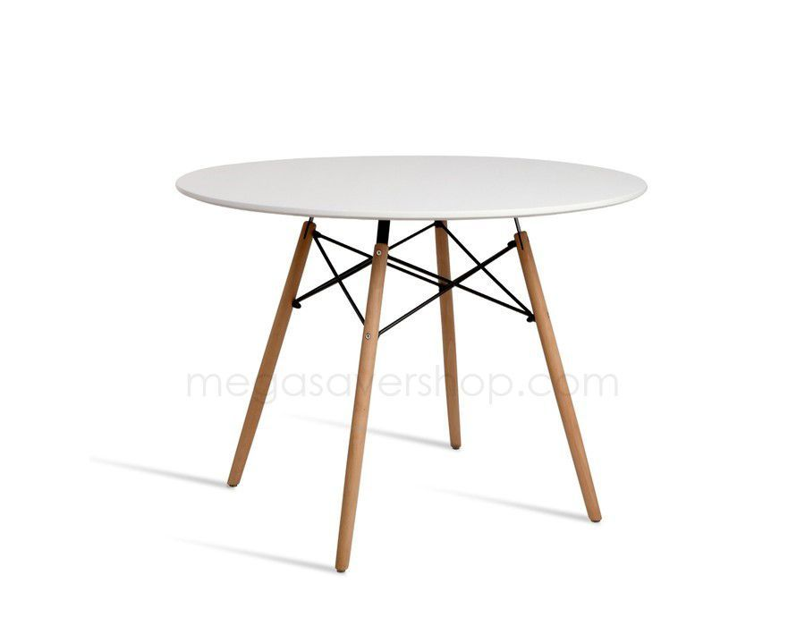 Eames Replica Dining Table White Dining Table Table Beech Wood