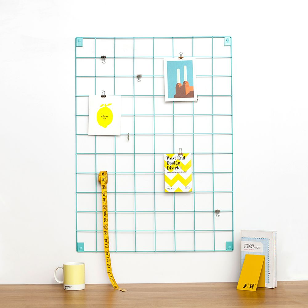 Wire Mesh Memo Board For The Office And Home By  Kitchen Notice