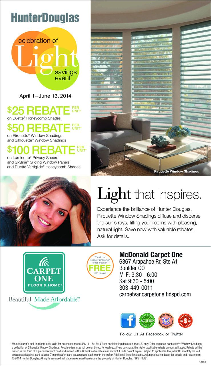 McDonald Carpet One  Celebration of Light Savings Event ...