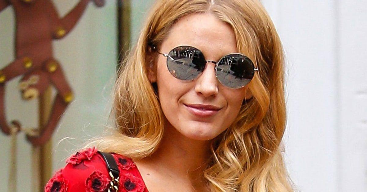 Blake Lively Sunglasses | Round sunglass women, Sunglasses ...